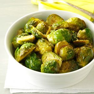 Lemon-Butter Brussels Sprouts Recipe