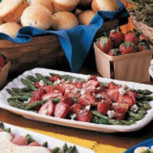 Asparagus Strawberry Salad Recipe