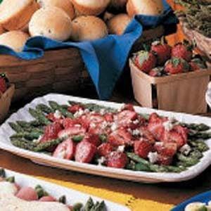 Asparagus Strawberry Salad Recipe