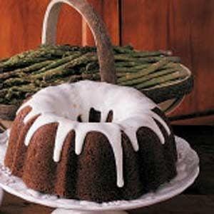 Asparagus Bundt Cake Recipe