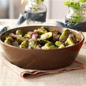 Garlic Roasted Brussels Sprouts Recipe
