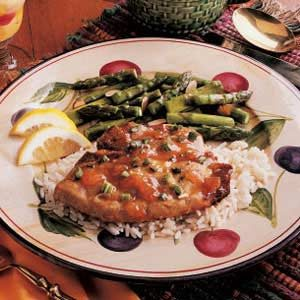 Asparagus with Almonds Recipe