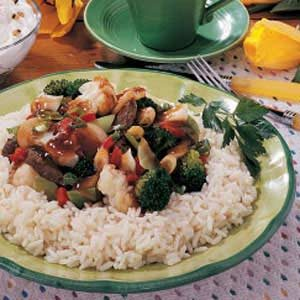 Stir-Fry for One Recipe