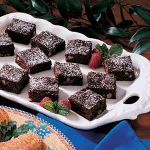 Lighter Fudgy Brownies Recipe