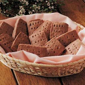 Homemade Chocolate Shortbread Recipe