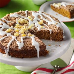 Gingerbread Coffee Cake Recipe photo by Taste of Home