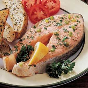 Special Salmon Steaks