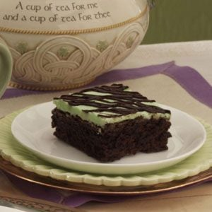 Peppermint Fudge Brownies Recipe