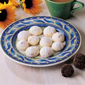 Black Walnut Butter Cookies Recipe