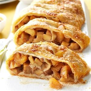 Caramel Apple Strudel Recipe