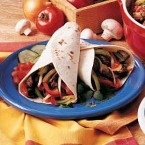 Lamb Fajitas Recipe