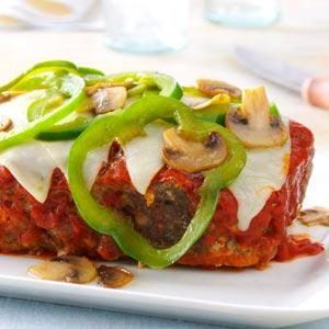 Mozzarella Meat Loaf Recipe