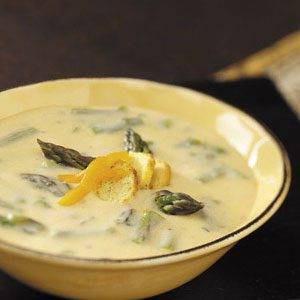 Asparagus Cheese Soup Recipe