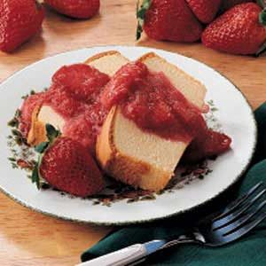 Strawberry Rhubarb Sauce Recipe