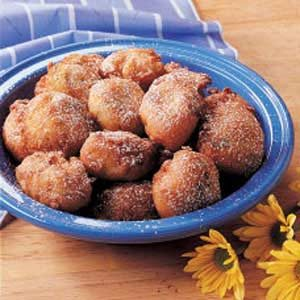 Rhubarb Fritters Recipe