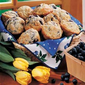 Pat's Blueberry Muffins