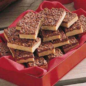 Crunchy Peanut Butter Bars Recipe