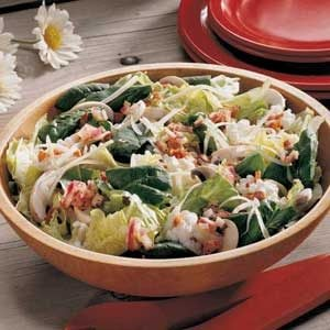 Two-Cheese Tossed Salad Recipe