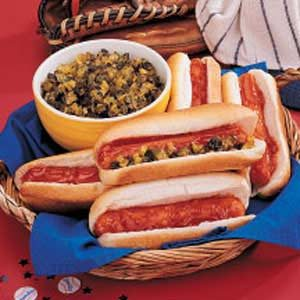 Dugout Hot Dogs Recipe