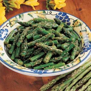 Asian Asparagus Salad Recipe