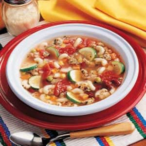 Turkey Minestrone Recipe
