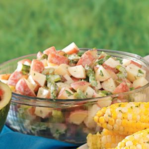 West Coast Potato Salad Recipe