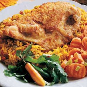 Spanish Chicken and Rice Recipe