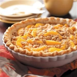 Mom's Peach Pie Recipe
