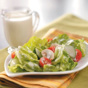 Creamy Garlic Dressing Recipe