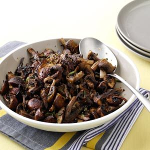 Herb-Roasted Mushrooms Recipe