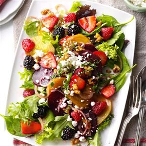 Berry-Beet Salad Recipe