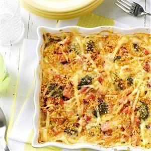 Broccoli-Ham Hot Dish Recipe