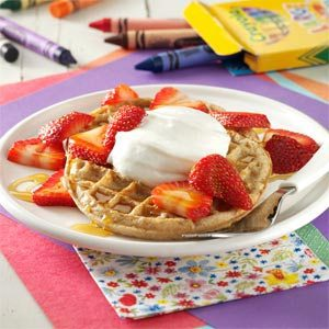 Strawberry Breakfast Shortcakes Recipe