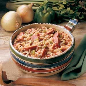 Spanish Sausage Supper Recipe