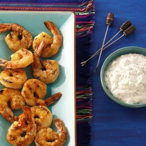 Grilled Chipotle Shrimp