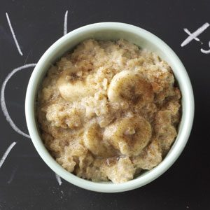 Brown Sugar & Banana Oatmeal Recipe