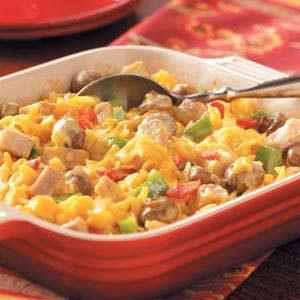 Pork Noodle Casserole Recipe