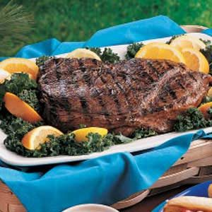 Citrus Sirloin Steak Recipe