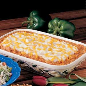 Speedy Salmon Casserole Recipe