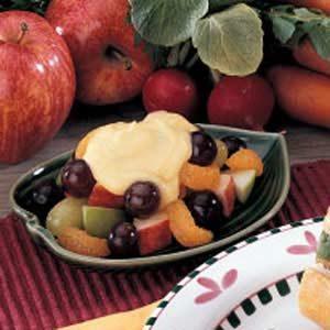 Vanilla Fruit Dessert Recipe