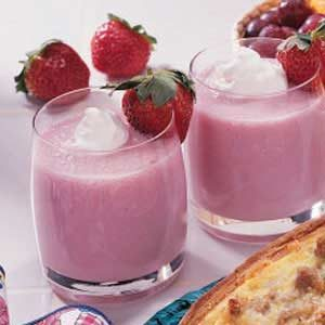 Strawberry Banana Shakes