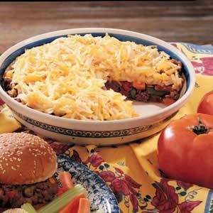 Hash Brown Beef Pie Recipe
