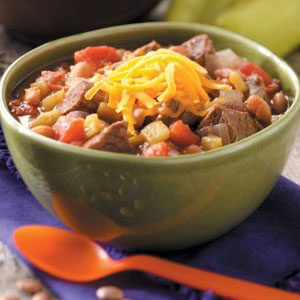 Hearty Green Chili Stew