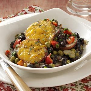 Black Bean Potato au Gratin Recipe