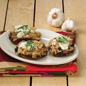 Italian Stuffed Portobellos Recipe