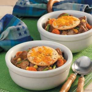Quicker Beef PotPie Recipe