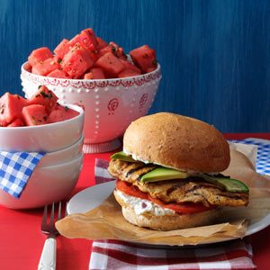 Cilantro-Lime Chicken Sandwiches