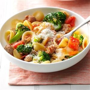Sausage Orecchiette Pasta Recipe photo by Taste of Home