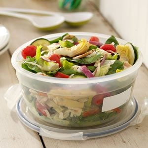 Italian Fresh Vegetable Salad Recipe