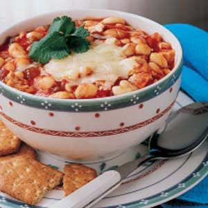 Contest-Winning Chicken Chili Recipe